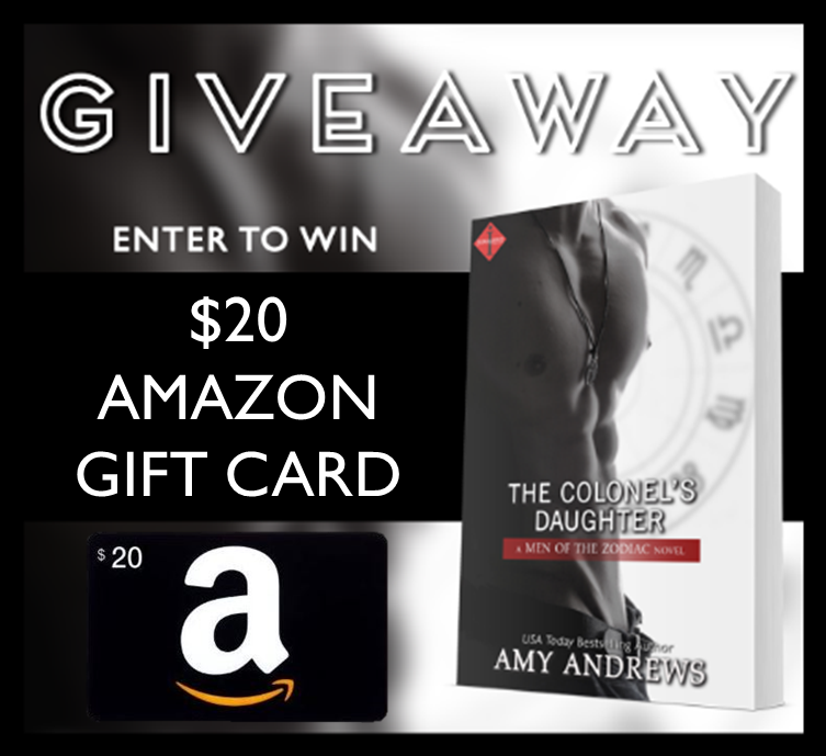 The Colonel's Daughter Giveaway Graphic