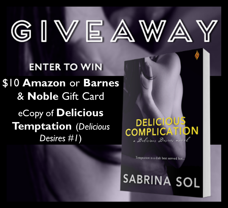 Delicious Complication Giveaway Graphic