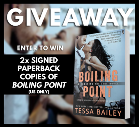 Boiling Point Giveaway Graphic