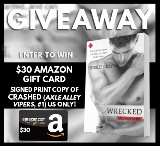 WRECKED Giveaway Graphic
